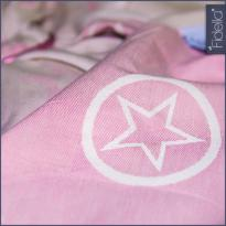 Fidella Babywrap Outer Space Rose 360 cm - maat 4