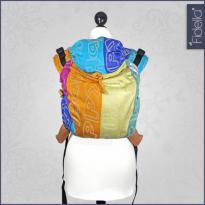 Fidella Onbuhimo back carrier Happy Colour Boom