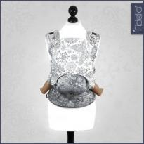 Fidella Fusion babycarrier with buckles Iced Butterfly Smoke