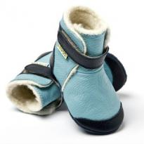 Liliputi Soft Soled Booties Himalaya Blue M (12 - 18 mnd)